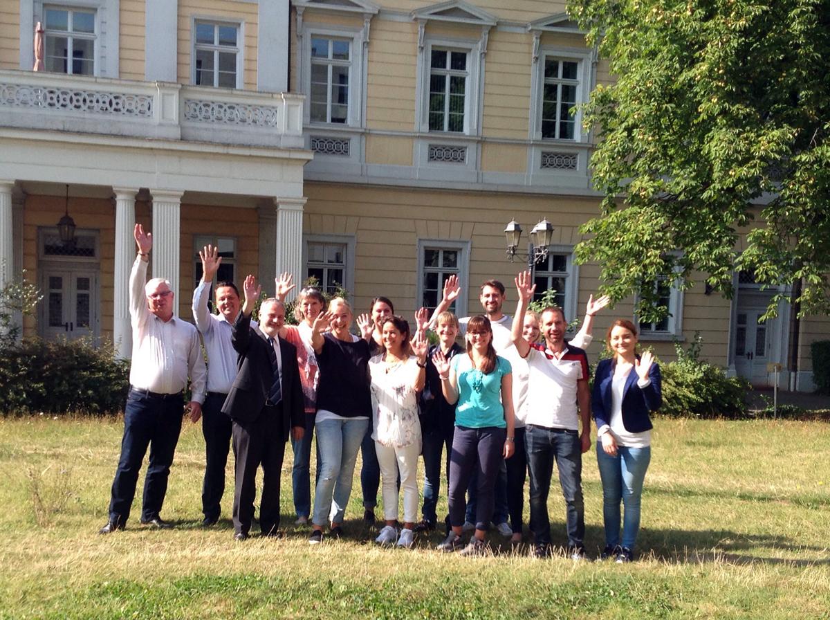 Teilnehmer des Seminars in Darmstadt (21.-24.9.2016)