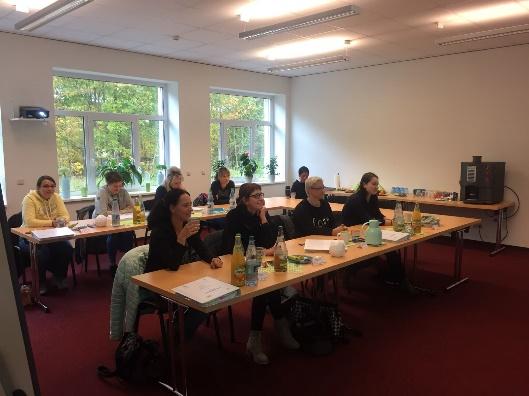 8 Teilnehmer beim Kurs in Zwönitz vom 19.-22.10.2016